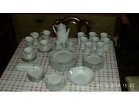 Diane Dinner Service by Wade Fine China of Japan, used for sale  Saxmundham, Suffolk
