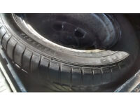 LOOKING FOR 4/5 USED SUMMER TYRES 205 55R 16 OFF VAUXHALL WHEELS 110PCD