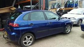 Seat Ibiza's for breaking 02 to 2011