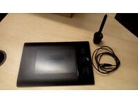 Wacom Intuos 4 Professional Small Black Graphic Tablet + Kensington Orbit Optical Trackball Mouse