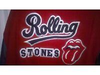 Rolling Stones versity tour jacket