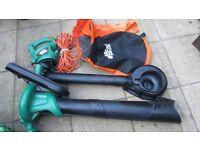 Garden vac and leaf blower