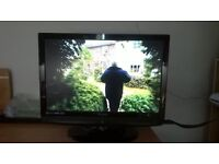 technika 22 inch lcd tv with built in dvd player