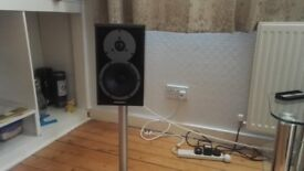 Dynaudio Emit M10 speakers black satin for sale.
