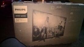 brand new still sealed Phillips tv