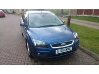 2008 Ford Focus Titanium 1.8 Turbo Diesel, Manual, Blue, 5-Door