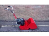ROVER 45 PETROL CYLINDER LAWNMOWER SELF PROPELLED WITH REAR ROLLER
