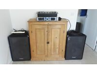1600W Stereo Equipment. Components can be sold separately.