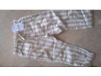 Next boys stripe linen trouser