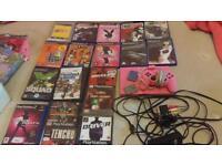 Sony pink PS2 slimline