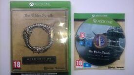 Xbox one game The Elder Scrolls online gold edition