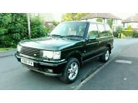 2000 RANGE ROVER P38 4.0 SE AUTO MET GREEN LONG M.O.T LOW MILES LOVELY 4X4 MAY PX