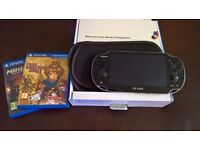 PS Vita 3G/Wifi. Boxed with manuals, charger. soft case and Minecraft and Little King's Story