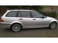 BMW Touring, 02, Very, Very low miles 46k service history