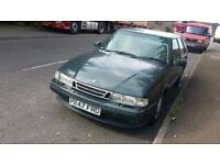 saab 9000 5 doors automatic no mot spare or repir only £190 For quick sale
