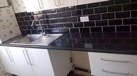 2 bed first floor flat in Wallsend