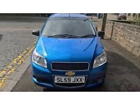 Chevrolet Aveo 1.2 2009 (59) **Low Mileage**Full Years MOT**Full Service History**Only £1795**