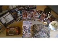 YU GI OH TRADING CARDS OVER 2000 MANY BOXED 500 POUNDS JOB LOT SUIT COLLECTOR