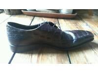 Hugo boss alligator skin shoes