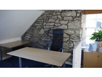 Desk Space. Contemporary loft style Fully Serviced all inclusive office space. Flat Fee - no extras