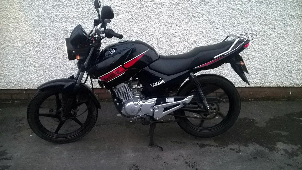 yamaha ybr 125cc sept 2013 in omagh county tyrone gumtree. Black Bedroom Furniture Sets. Home Design Ideas