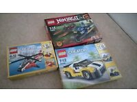 Ninjago Creator lego bundle BARGAIN PRICE BRAND NEW