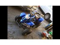 110cc quad sepang blue