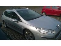 Peugeot 407 SW 2.0 HDI 136 Diesel FSH + Huge Spec Inc Cruise, Climate & Pan Glass Roof