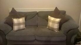 BARGAIN!!! grey large sofa