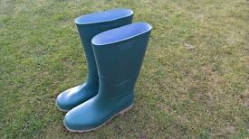 Wellington Boots , Brand New Size 10 (44) Green