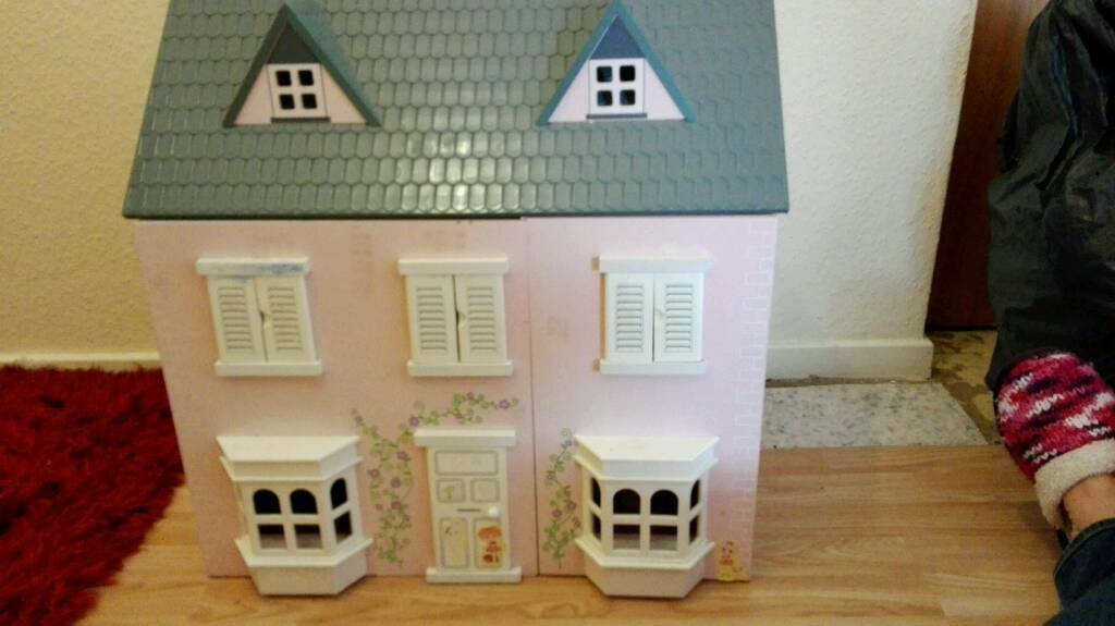 Wooden Dolls House. Thank you this item has now been sold