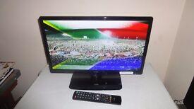 "LOGIK 22"" LED DVD FREEVIEW TELEVISION"