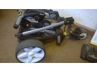 Powakaddy FW7 18-hole Lithium Plug'n'Play Battery and Charger (and trolley travel cover)