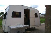 Rapido confort folding caravan