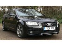 AUDI A3 2.0 TDI 170 BLACK EDITION S-TRONIC FULL AUDI SERVICE HISTORY NOT RS3 S3 GOLF GTD GTI