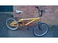 custom made magna bmx bike