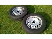 Renault Trafic / Vauxhall Vivaro Wheels x 2