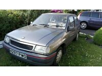 Vauxhall Nova Merit 1.2 1991