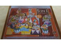 KIDS 5IN1 PUZZLE NEW AND SEALED