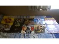 Heavy Metal and Punk vinyl LPs
