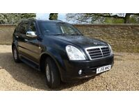 Ssangyong Rexton 270 XDI top of range 4 x 4 Mercedes Engine / Gearbox
