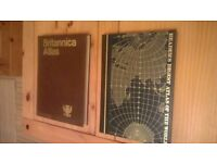 LARGE WORLD ATLASES /IDEAL FOR OFFICE/LIBRARY HOME EDUCATION.(READERS DIGEST AND BRITANNICA ATLASES)