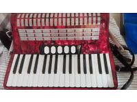 Piano Accordion, Hohner Concerto, 72 bass