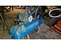 air compressor 4 cylinder very large working 3 false