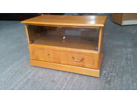 Small Wooden Effect TV Unit