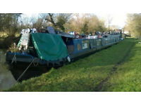 70ft Springer narrowboat canal boat barge house boat with safety certificate and survey
