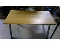 Modern Pine Top Coffee Table in Great Condition