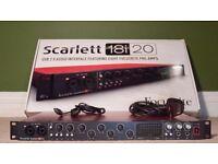 Focusrite Scarlett 18i20 MKI USB Audio Interface (1st Gen)