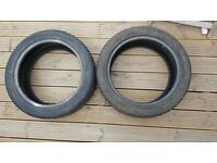 Part worn 205/45/r16 tyres