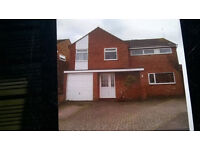 4 bedroom detatched house in Countesthorpe a popular south Leicester village to rent